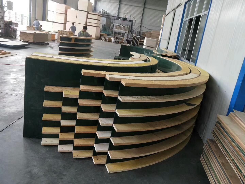 建筑覆塑可调性弧形模板